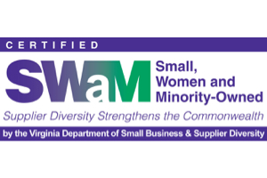 Certified Smal, Woman and Minority-Owned logo