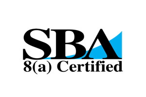 U.S. Small Business Administration 8(a) Certified logo