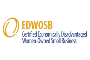Certified Economically Disadvantaged Woman-Owned Small Business logo