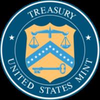 United States Mint Treasury logo